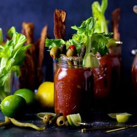 Bloody Mary with All. The. Fixins.