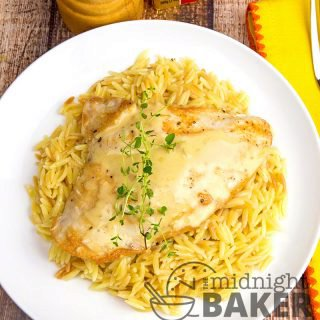 Chicken with Herb Butter Sauce