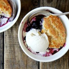 Cook's Illustrated Blueberry Cobbler