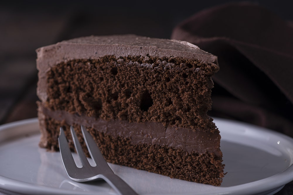 Old-Fashioned Chocolate Cake with Cocoa Frosting